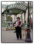Accord�oniste Metro Abbesses
